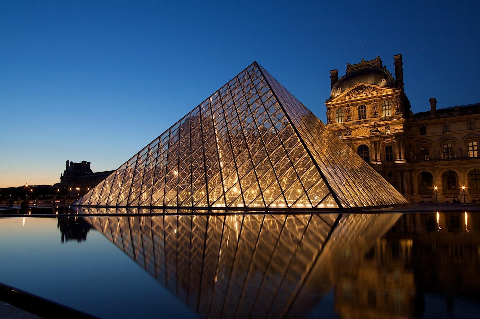 Louvre-Paris Kinect