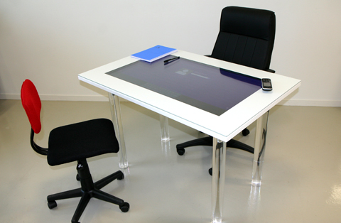 Table interactive de bureau