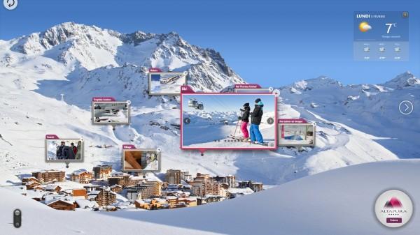 solution tactile immobilier solution tactile immobilier media présentés en scénographie