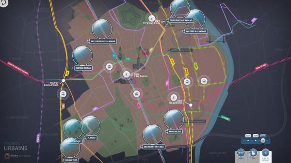 EvoluMap : réseau de transport