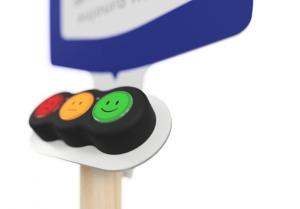 enquête satisfaction client par borne smiley