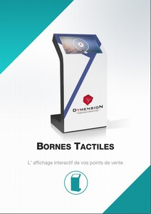catalogue bornes tactiles