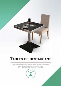 catalogue tables resto1