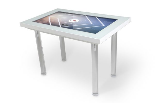 Table tactile blanche KT2