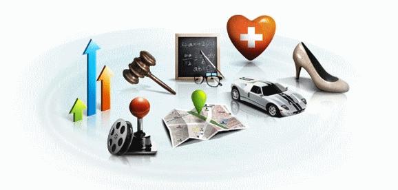 Secteurs d'activité - application table interactive