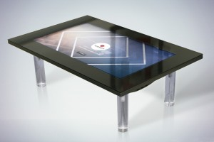 Our interactive tables copy copy copy dymension for Table basse tactile