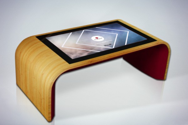 Our touch coffee table dymension for Table basse tactile