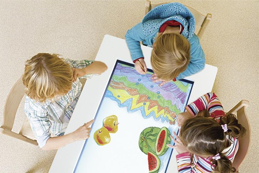 Table tactile InSign enfants
