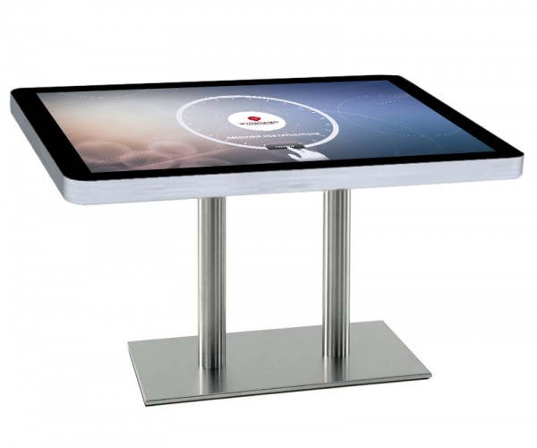 Table tactile d n o pour restaurant dymension - Table pour diner ...